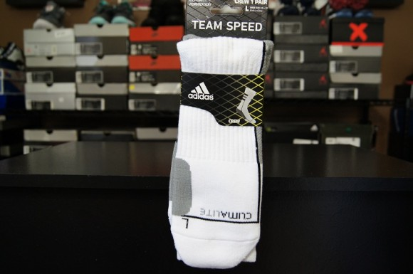 First Impression: adidas Team Speed Crew Sock