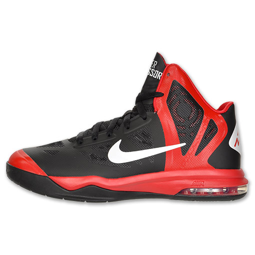 Nike Hyper Aggressor Black White University Red WearTesters