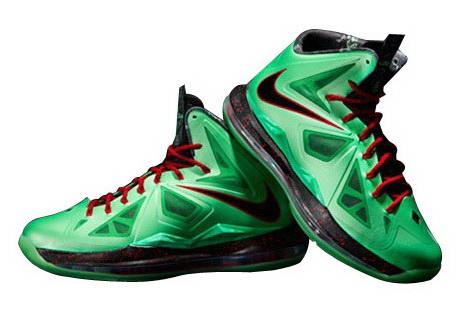 Nike LeBron X (10) 'Cutting Jade