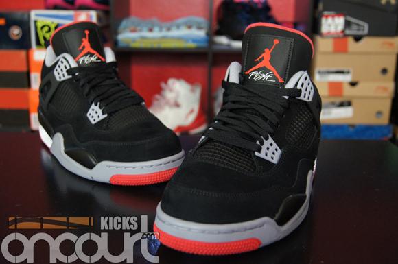 100% authentic e0302 683b6 Air-Jordan-IV-4-Retro-Black-Cement-Grey-Fire-Red-Detailed ...