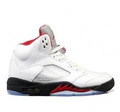 Air-Jordan-V-(5)-White-Black-Fire-Red-Pre-Order