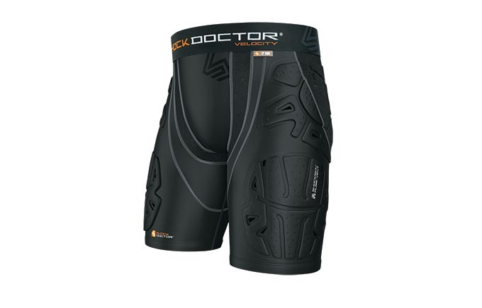 Shock Doctor Velocity Shockskin Basketball 5-Pad Shorts Review