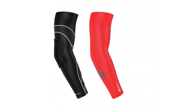 Shock-Doctor-Velocity-Shockskin-Basketball-Arm-Sleeve-&-Core-Compression-Sleeve-Review