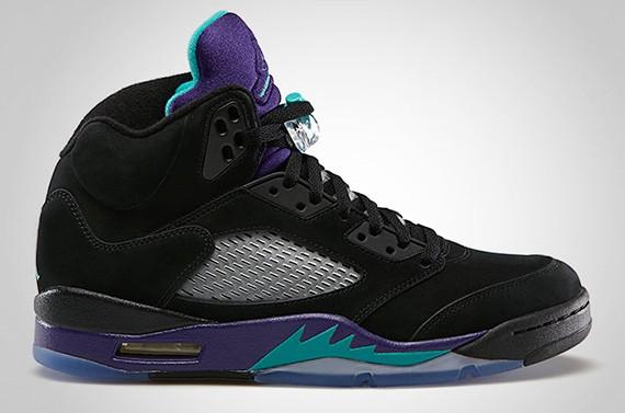 Air Jordan 5 Retro 'Black Grape Aqua' – Available for Pre-Order