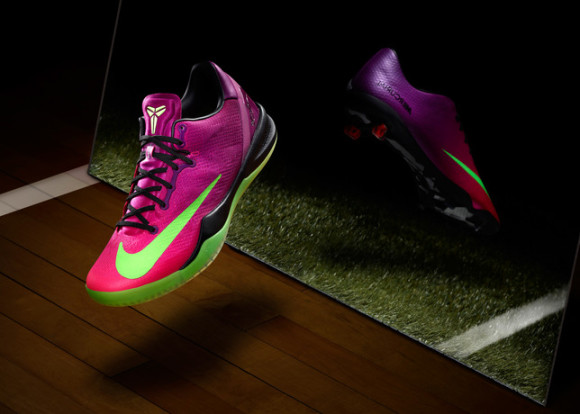 Kobe 8 Mambacurial - Basketball Performance Inspired by Football 1