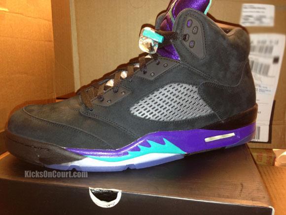 Air Jordan 5 Retro 'Black Grape' – Arriving at Retailers 1