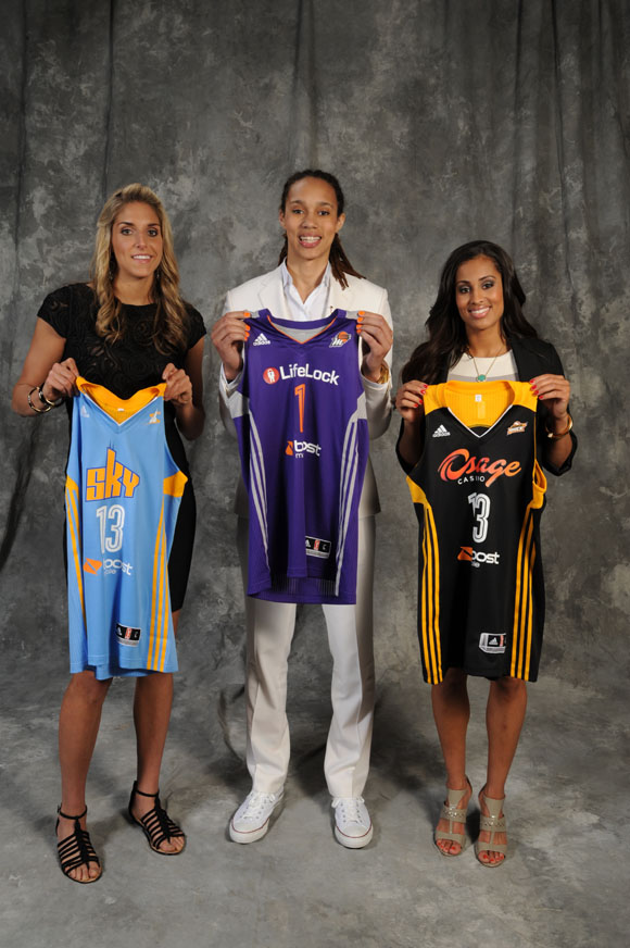 2013 WNBA Draft and Portraits