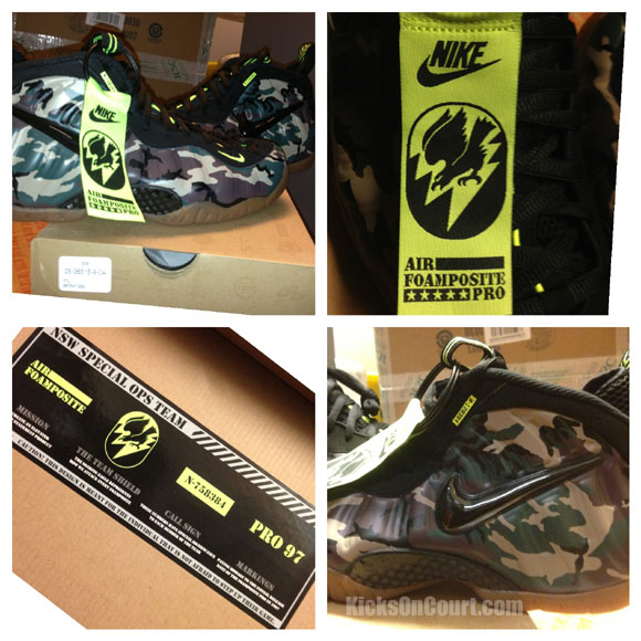 Nike Air Foamposite Pro Premium 'Camo' – Arriving at Retailers