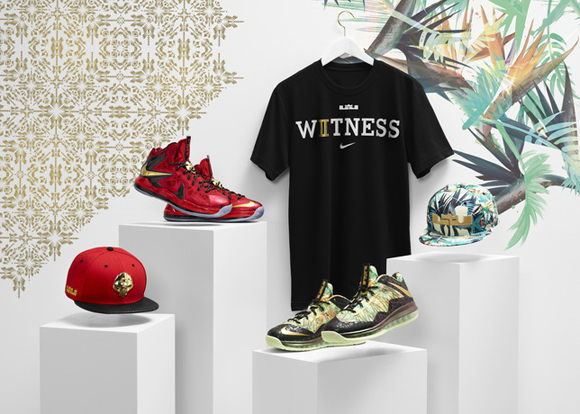 Nike Celebrates LeBron Jame's Back-to-Back Championships with Limited Edition Championship Pack 1