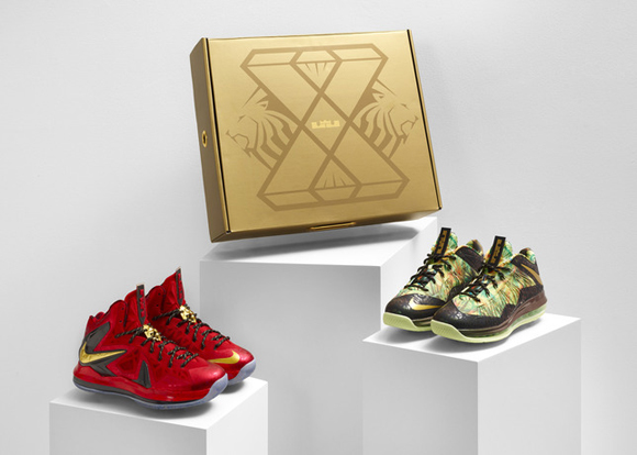 Nike Celebrates LeBron Jame's Back-to-Back Championships with Limited Edition Championship Pack 2