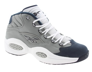 Reebok Question Mid 'Georgetown' – Restock @PickYourShoes