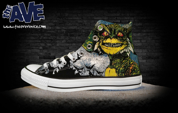The Ave Venice x racPOP 'After Midnight' Converse Chuck Taylor High 1