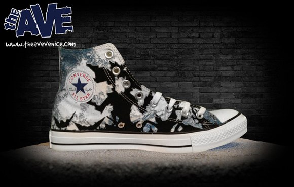 The Ave Venice x racPOP 'After Midnight' Converse Chuck Taylor High 2