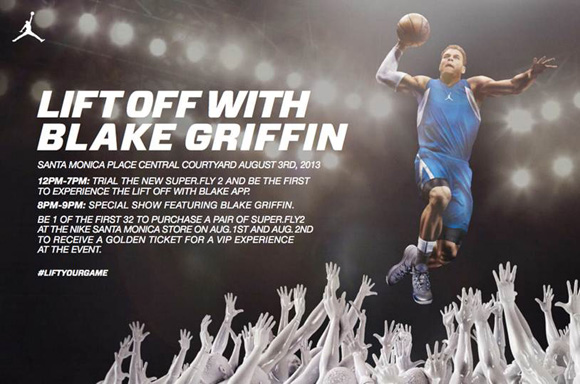 Jordan Brand Super.Fly 2 Event Featuring Blake Griffin at Nike Santa Monica