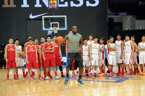 LEBRON JAMES VISITS PHILIPPINES FOR FIRST TIME ON NIKE BASKETBALL TOUR 2