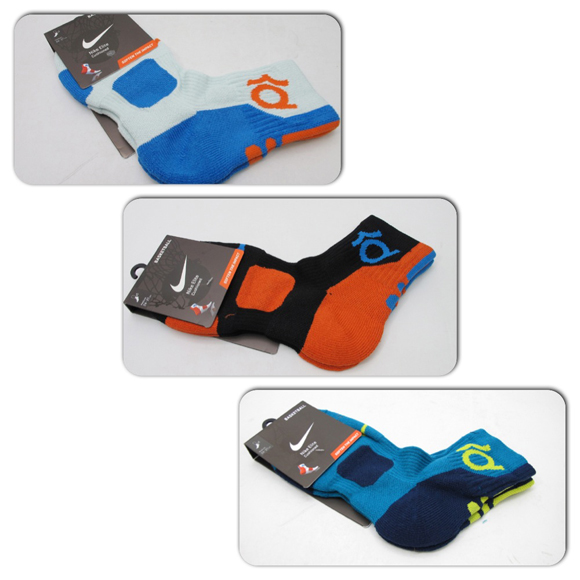 Nike Elite KD Quarter Cut Socks 4