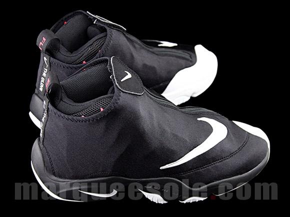 amazing price factory price half price Nike Zoom Flight 98 'The Glove' Black White - Red - Detailed Look ...