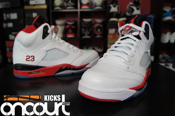 Air Jordan 5 Retro 'Fire Red' – Detailed Look & Review 1