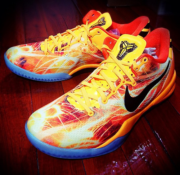 Nike Kobe 8 SYSTEM 'Fireworks' – Another Look 1