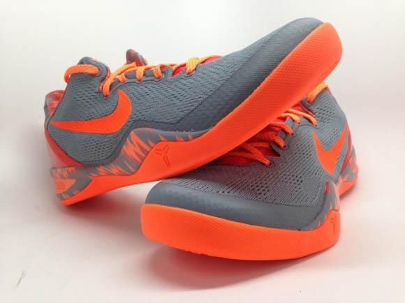 Nike Kobe 8 SYSTEM PP Grey Orange 3