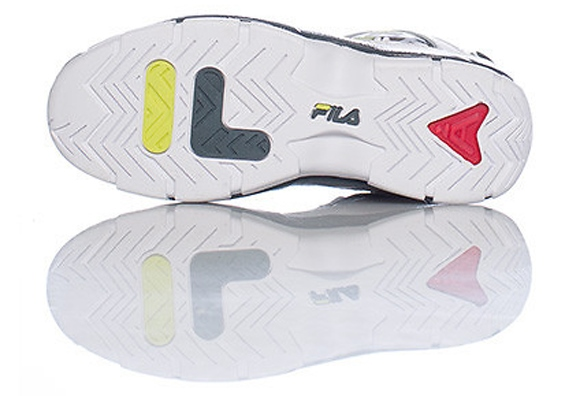 Example of flat traction surface: FILA 96