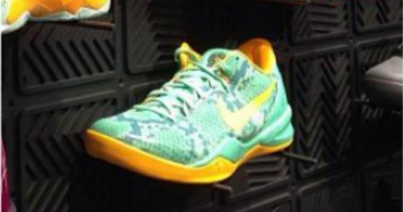 Nike Kobe 8 SYSTEM Green Yellow 2