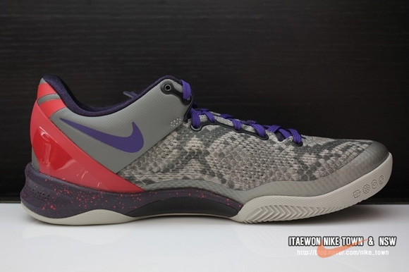 Nike Kobe 8 SYSTEM 'Mine Grey' 3