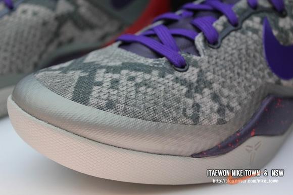 Nike Kobe 8 SYSTEM 'Mine Grey' 9