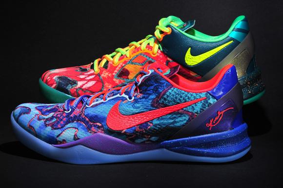 Nike Kobe 8 SYSTEM Premium 'What the
