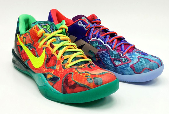 Nike Kobe 8 SYSTEM 'What the Kobe' - Detailed Look 1