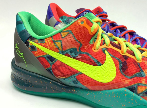 Nike Kobe 8 SYSTEM 'What the Kobe' - Detailed Look 2