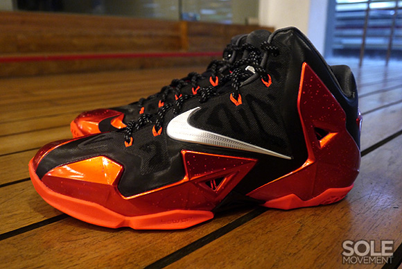 Nike LeBron XI (11) 'Away' – Final Look 2