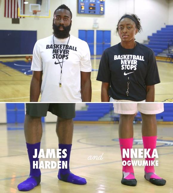 VIDEO Nike Hyper Elite Sock Etiquette – Watch Your Weight
