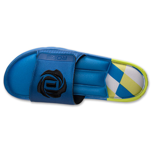 adidas D Rose Slide Sandals - Available Now BLUE 6