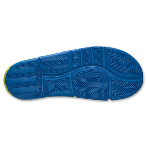 adidas D Rose Slide Sandals - Available Now BLUE 7