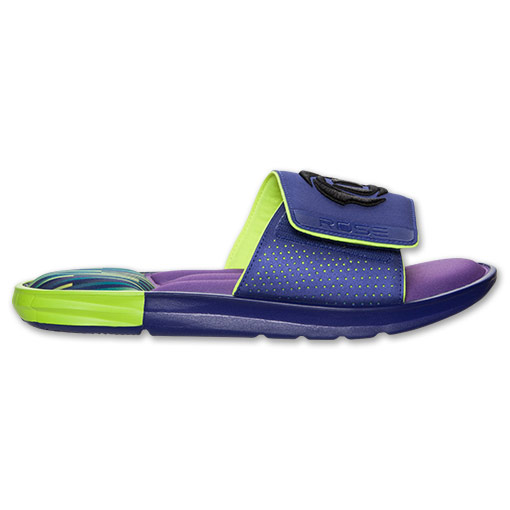 adidas D Rose Slide Sandals - Available Now PURPLE 3