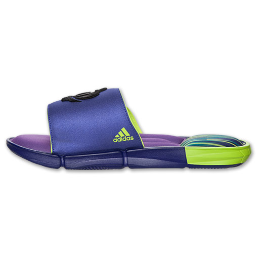 adidas D Rose Slide Sandals - Available Now PURPLE 5