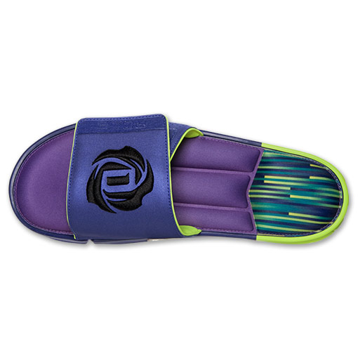 adidas D Rose Slide Sandals - Available Now PURPLE 6