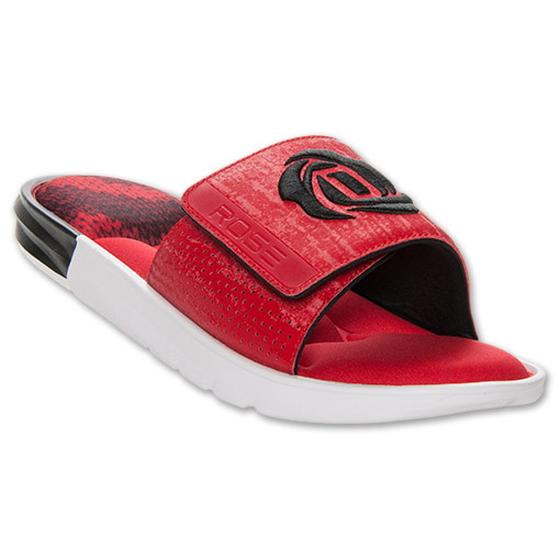 adidas D Rose Slide Sandals - Available Now RED 1