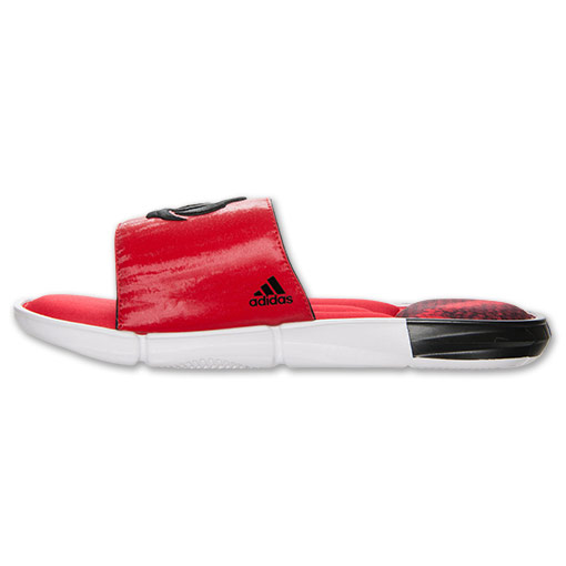 adidas D Rose Slide Sandals - Available Now RED 5