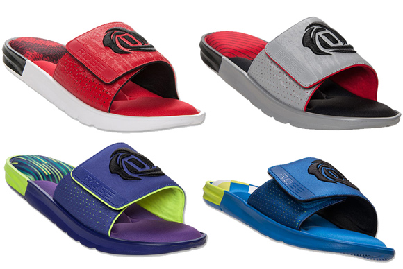 adidas D Rose Slide Sandals - Available Now
