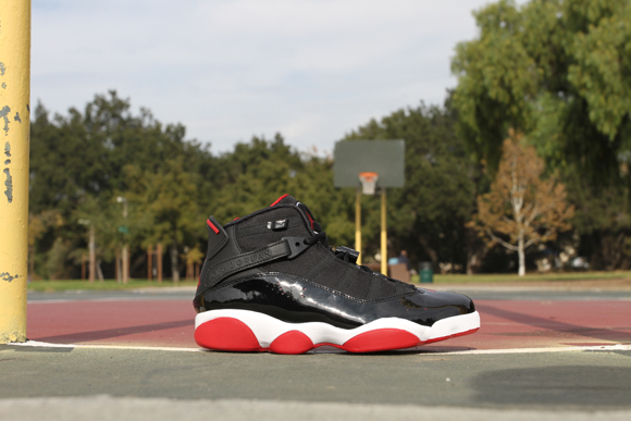 Air Jordan 6 Rings Black Red – Detailed Look 1