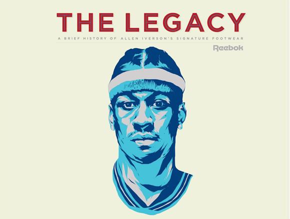 Allen Iverson Reebok Signature Sneaker Legacy 1