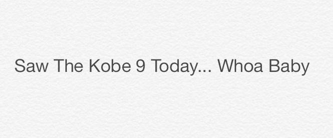 Nike Kobe 9 Possible Tech Info  2