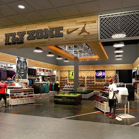 Nike and Jordan Brand Open Nike Fly Zone at Kids Foot Locker 3