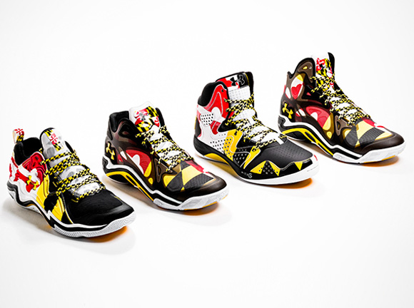 Under Armour Basketball 'Maryland Pride' Lineup 1