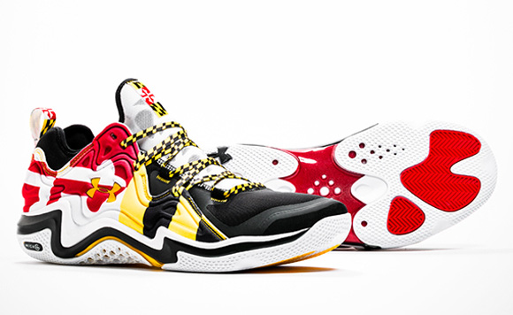 Under Armour Basketball 'Maryland Pride' Lineup 5