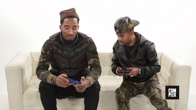 JR Smith and Lil Duval Go Head to Head in #NBA2K14