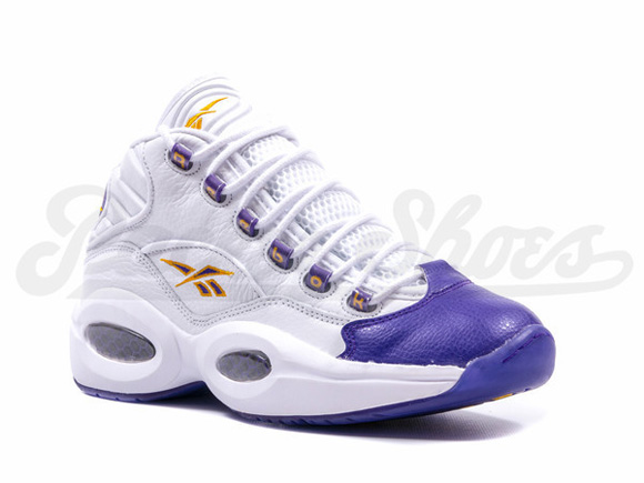 Reebok Question Mid 'For Players Use Only' White Purple – Restock 3