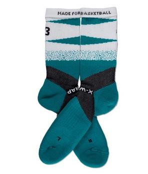 X-Wrap Basketball Socks by POINT 3 9